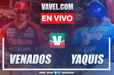 Resumen carreras Venados 1-0 Yaquis en Juego 7 Semifinal LMP 2020