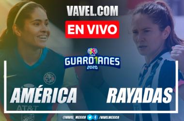 Resumen y goles: América 1-4 Monterrey en Semifinales de Liga MX Femenil 2020