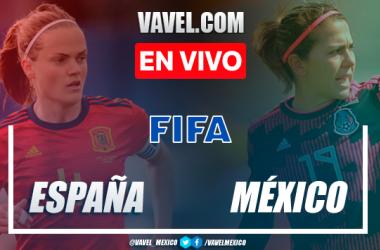 Goles y resumen: España 3-0 México en Amistoso Femenil 2021
