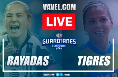 Goles y resumen del Rayadas Monterrey 2-2 Tigres en Semifinales Liga MX Femenil 2021