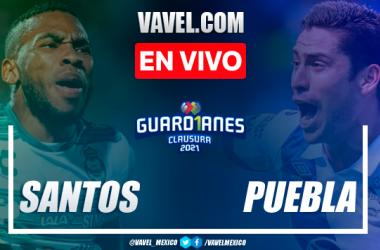 Resumen y goles: Santos 3-0 Puebla en Semifinales de Ida de la Liga MX Guard1anes 2021