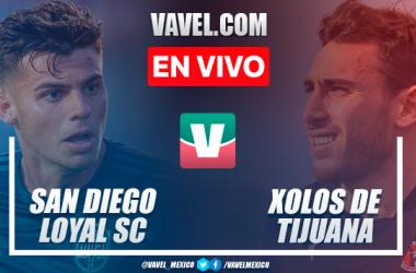 Resumen y gol: San Diego Loyal 0-1 Xolos de Tijuana en partido amistoso 2021