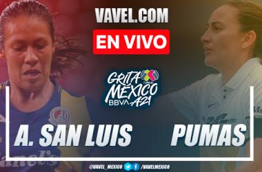 Resumen y goles: Atlético de San Luis 2-1 Pumas en Liga MX Femenil Apertura 2021