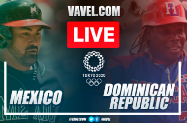 Run and highlights: Mexico 0-1 Dominican Republic in Baseball Olympic Games 2020