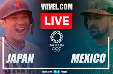 Runs and highlights: Japan 7-4 Mexico in Baseball Olympic Games 2020