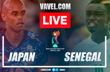 Goals and highlights: Japan 5-2 Senegal in Semifinal Beach World Cup 2021