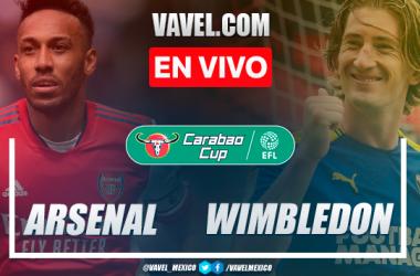Arsenal vs AFC Wimbledon EN VIVO: ¿cómo ver transmisión TV online en Carabao Cup?