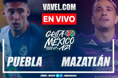 Resumen y goles: Puebla 2-0 Mazatlán FC por Liga MX 2021