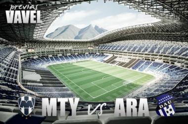Árabe Unido sorprende a Monterrey en el BBVA