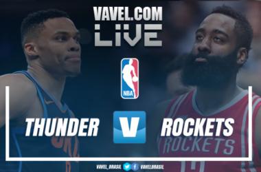 Resultado Oklahoma City Thunder x Houston Rockets na NBA 2017/18