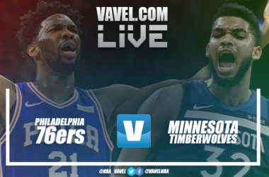 Resumen Philadelphia 76ers vs Minnesota Timberwolves en NBA 2018