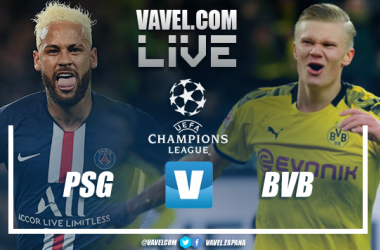 Resumen PSG vs Borussia Dortmund vuelta octavos de final Champions League 2020 (2-0)