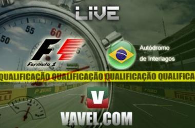 Qualificação do GP do Brasil de F1, directo