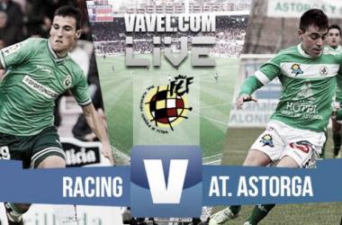 Resultado del Racing de Santander - Atlético Astorga en Segunda División B