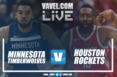Resumen Minnesota Timberwolves vs Houston Rockets en NBA 2018