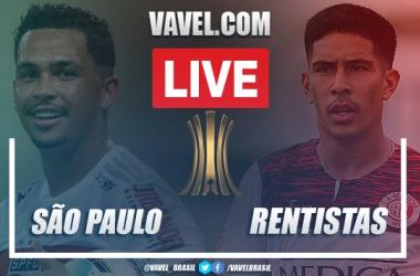 Gols e melhores momentos de São Paulo 2 x 0 Rentistas pela Libertadores da América