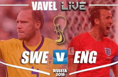 Resumen Suecia 0-2 Inglaterra en Mundial Rusia 2018