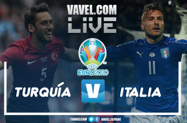 Resumen Turquía 0-3 Italia en la Eurocopa 2021
