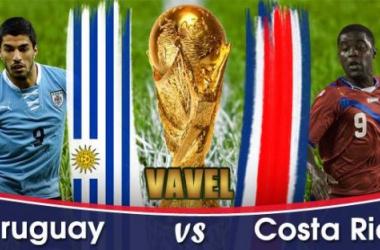 Live Coupe du Monde 2014 : Uruguay - Costa Rica en direct