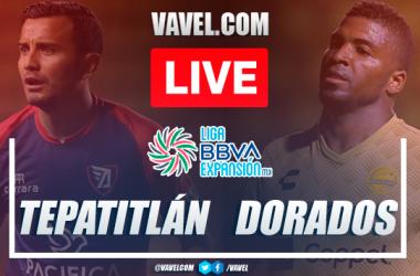 Goals, highlights and penalties:Tepatitlan FC 1 (4) - (2) 1 Dorados Sinaloa in 2021 Liga Expansión MX Liguilla