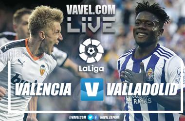 Resumen del Valencia 2-1 Valladolid en LaLiga Santander 2020