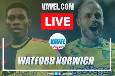 As It Happened: Watford 2-1 Norwich City in Premier League