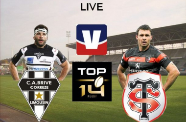 Live Top 14 : CA Brive Rugby - Stade Toulousain