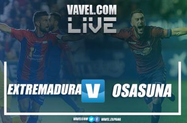 Extremadura vs Osasuna en vivo y en directo online en LaLiga 1|2|3 2018. | Imagen: VAVEL