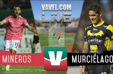 Resultado Mineros Zacatecas - Murciélagos en Ascenso MX 2015 (2-0)
