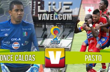 Resultado Once Caldas - Pasto Liga Águila 2016 (0-0)