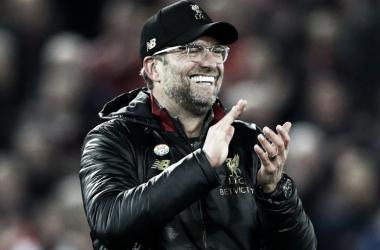 Jürgen Klopp tras la victoria de su equipo | Fotografía: Liverpool