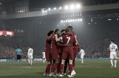 En Liverpool ya se espera al Manchester City