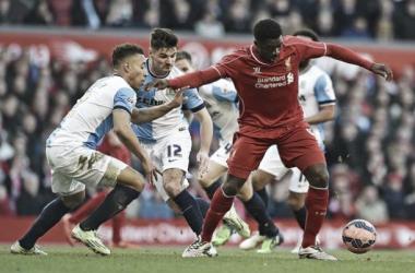 Ataque não funciona e Liverpool não sai do zero contra Blackburn pelas quartas da FA Cup