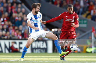 Liverpool completed the 1-0 double over Brighton last weekend, adding to their victory at Anfield back in August (Getty Images)