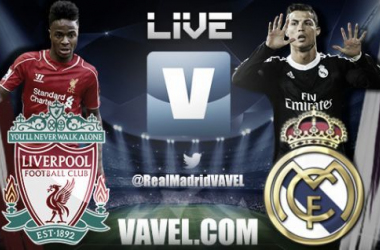 Live Champions League : le match Liverpool - Real Madrid en direct