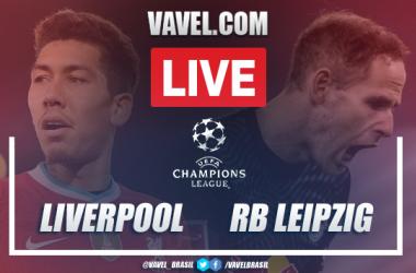 Gols e melhores momentos de Liverpool 2 x 0 RB Leipzig pelas oitavas de final da Champions League