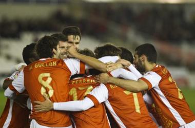 Resultado Racing de Santander - Real Madrid Castilla en Segunda División 2013 (1-0)