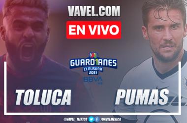 Goles y resumen: Toluca 1-0 Pumas en Liga MX Guardianes 2021