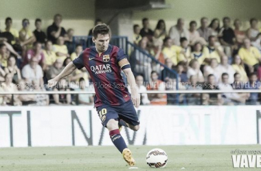 """Leo Messi: """"Jugar contra River Plate es especial"""""""