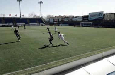 Jugadores durante el partido (Foto: Gabriel Chaves)