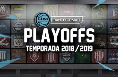 Poster oficial de los PlayOffs | Foto: AdC, Liga Argentina