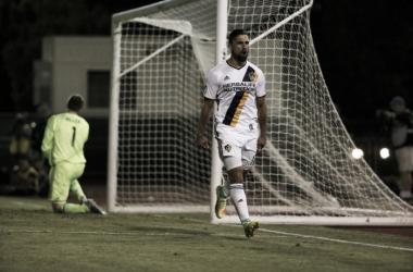 Sebastian Lletget scores twice in Galaxy's victory. | Photo: Los Angeles Galaxy