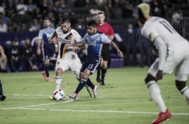 Galaxy and Vancouver end the match without a goal between them. | Photo: LA Galaxy
