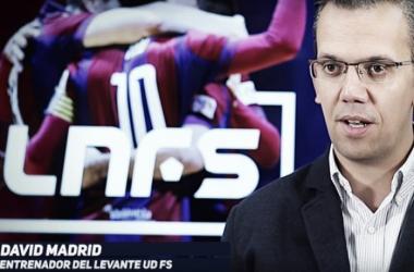 """David Madrid:  """"No hemos estado finos y hemos sufrido mucho"""" (Foto: LNFS)"""