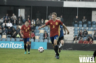 Marcos Llorente, gran opción para el centro del campo. También interesa Hiljemark