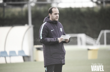 Lluís Cortés ya prepara el choque ante la Real Sociedad con el grueso de su plantilla disponible. FOTO: Noelia Déniz