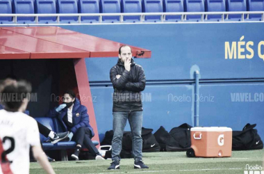 Lluís Cortés esta temporada. Foto: Noelia Déniz