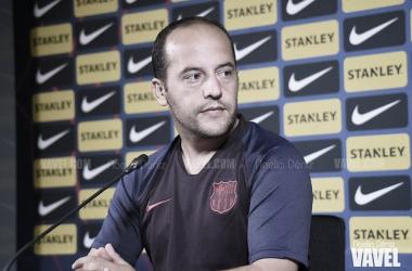 """Lluís Cortés: """"Soy muy afortunado de poder conducir a este equipo"""""""