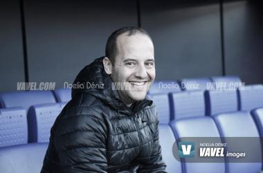 Lluís Cortés, técnico del Barcelona | Foto: Noelia Déniz - VAVEL