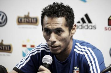 El bicampeonato iba a significar el cuarto titulo de Lobatón como jugador rimense. Foto: americatv.com.pe